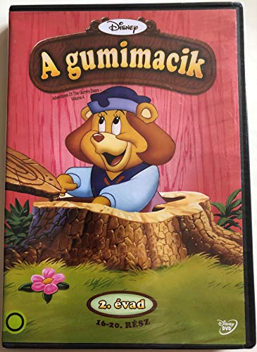 Adventures of the Gummi Bears - Volume 4 DVD 1986 A gumimacik / Created by Michael Eisner, Art Vitello, Jymn Magon / 9 episodes - 9 epizód a lemezen
