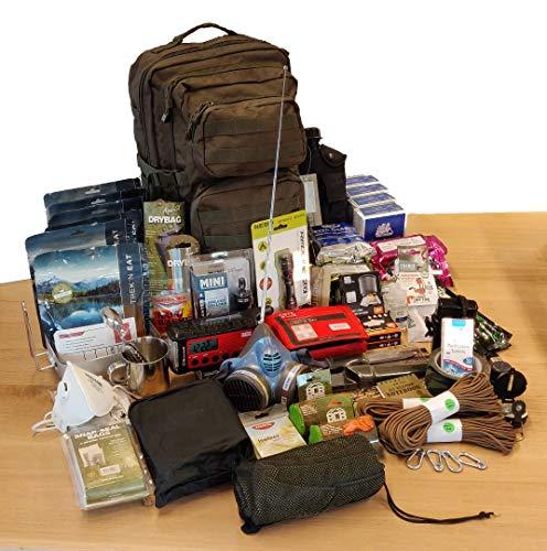 Prepshop Komplette Notfall-Kit im Rucksack 'Large'   Survival-Kit  ...