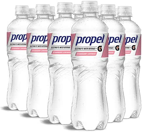 Propel Strawberry Lemonade Zero Calorie Water Beverage with Electrolytes Vitamins C E 24 Fl product image