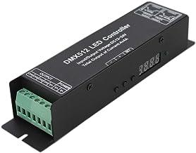 JOYLIT 4 Channel 4x4A 192W Digital Display DMX Decoder DMX512 LED Controller Driver DC 12~24V for RGBW LED Strip Lights
