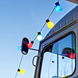 30er LED Party Lichterkette bunt Innen Außen Lights4fun