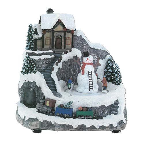 Village de Noel Lumineux - Modèle 3
