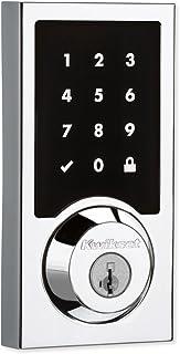 Kwikset 99160-018 SmartCode 916 Context Content Modern Z-Wave Plus صفحه نمایش لمسی الکترونیکی ، کروم جلا
