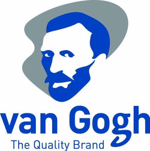 van Gogh Vernici acriliche Base Scatola colori ecc incl im Legno Tavolozza di miscelazione Vernici acriliche Pennello Tempi medi