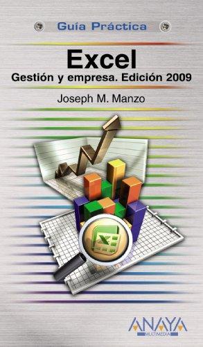 Excel. Gestión y empresa. Edición 2009 (Guías Prácticas)