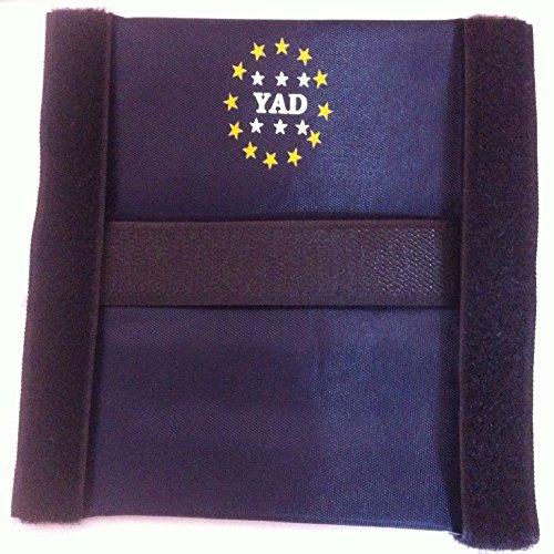 YAD 5 x Relingrutenhalter weiches Material Premium Angeln Ruten Rutenhalter
