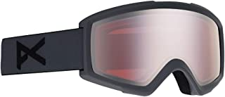Anon Helix 2.0 Snow Goggles Stealth Grey with Sonar Silver & Amber Lens