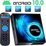 Android TV Box 10.0, Pendoo T95 Android Box 10.0 4GB RAM 32GB ROM