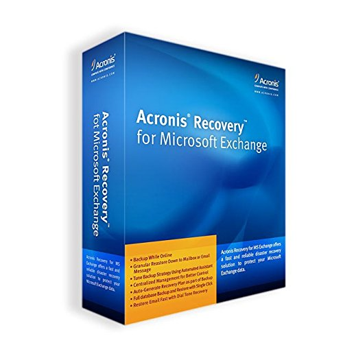 Acronis Recovery for Microsoft Exchange SBS Edition incl. AAP englisch