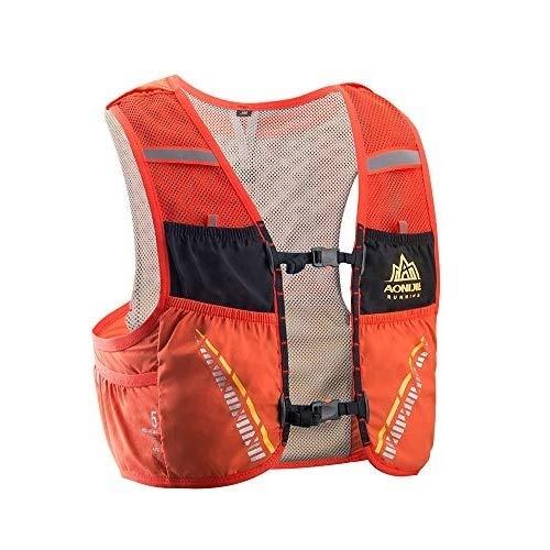 Lixada 5L Mochila Hidratación+Manta de Emergencia, Running Chaleco Transpirable y Ligero para Camping Marathoner Correr Caminar Escalada