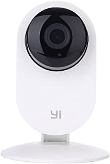 YI Home Motion Detection Camera HD Wireless Video Monitor Night Vision - White, International Version
