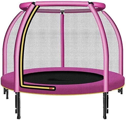 ZCXBHD Kids Indoor Ronde Trampoline, Met Veiligheid Behuizing Net Springen Mat En Lente Cover Padding, Voor Kinderen Binnen En Buiten Fitness Trampoline