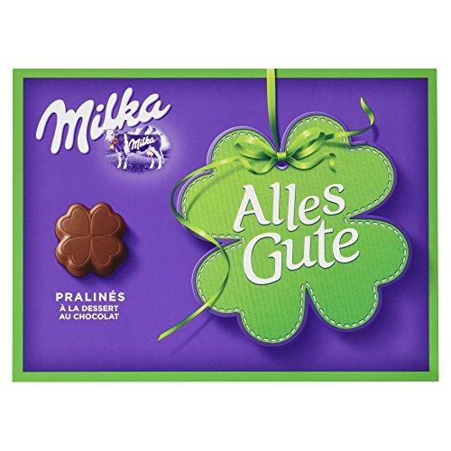 Milka Alles Gute, à la Dessert au Chocolat Pralinen, 110 g, 1er Pack (1 x 110 g)