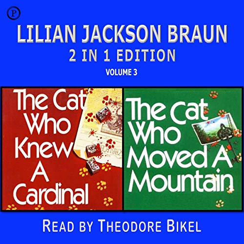 Lilian Jackson Braun 2-in-1 Edition, Volume 3 cover art