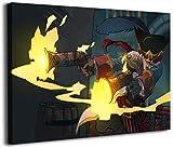 League Legends - Lienzo decorativo para pared (45,72 x 60,96 cm), diseño de cómic de Missfortune