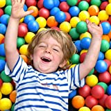 Pelotas para niños, Piscina de bolas multicolores, 5 colores, diámetro aprox....