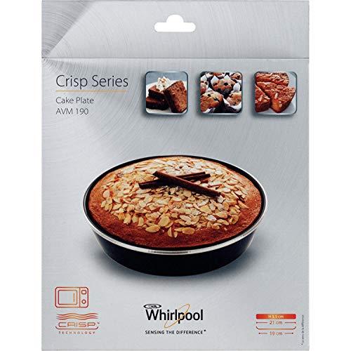 Whirlpool AVM190 Piatto Crisp a bordo alto (tortiera) per Forno a Microonde
