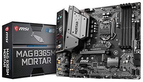 MSI Intel B365 LGA 1151 Support 9th/8th Gen Intel Processors Gigabit LAN DDR4 USB/M.2/HDMI Micro ATX...