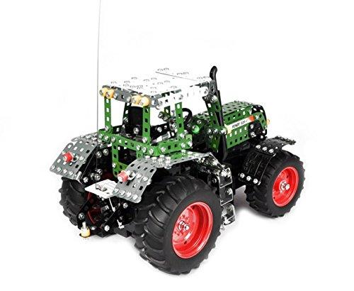 RC Traktor kaufen Traktor Bild 1: Tronico 10070 - Metallbaukasten Traktor Fendt 939 Vario mit Fernsteuerung, Profi Serie, Maßstab 1:16, 790-teilig, grün*