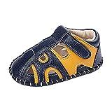 Sandalias Bebé Niña Verano Zapatos Casual Comodas Goma Antideslizante Suela Suave Sandalia con Punta Cerrada Zapatos Bebe Primeros Pasos Feroz de Regalos Zapatos niña Bebe Precioso cómodos