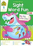 School Zone - Sight Word Fun Workbook - 64 Pages, Ages 6 to 7, 1st Grade, Word Recognition, Spelling, Letter Sounds, Context Clues, Categorizing, and More (School Zone I Know It! Workbook Series)