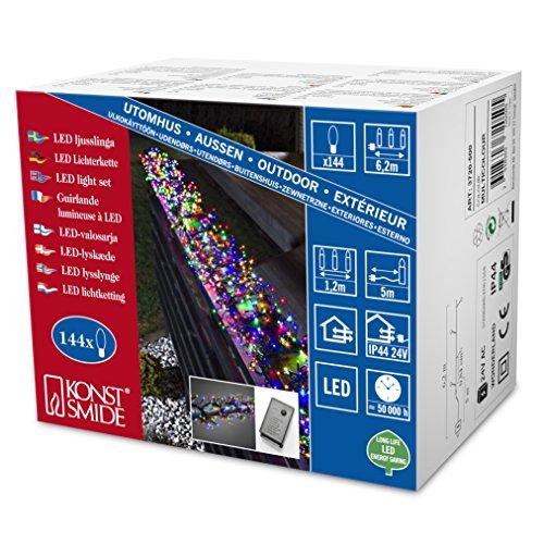 Konstsmide 3720-500 Micro LED Büschellichterkette