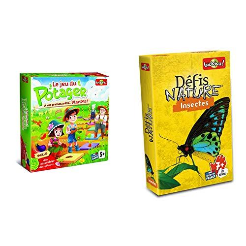 Bioviva - 282420 - Le Jeu du Potager & 280068 - Défis Nature - Insectes