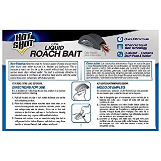 Hot Shot Ultra Liquid Roach Bait, 6-Count