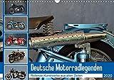 Deutsche Motorrad - Legenden - Rollende Kunstwerke aus alten Zeiten (Wandkalender 2020 DIN A3 quer)