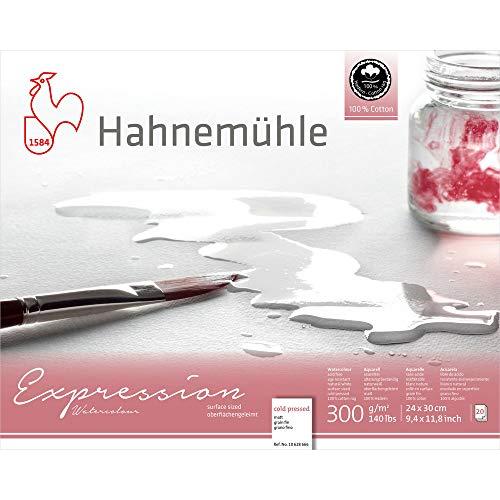 Hahnemuhle Bloque de acuarela, Blanco, Large