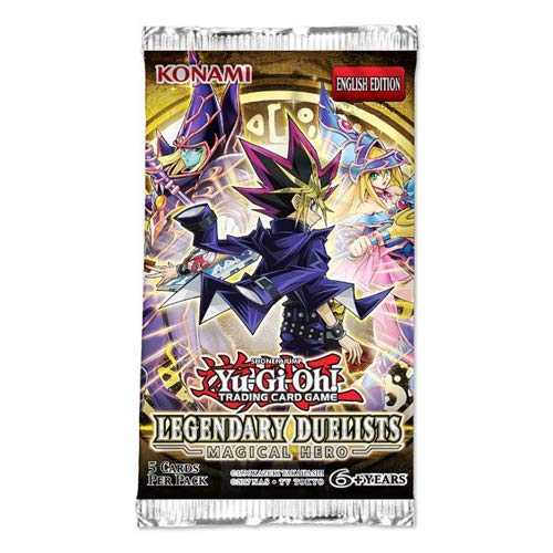 Yu-Gi-Oh LED6RP Legendary Duelist Magical Hero Booster Packet Nachdruck Unlimited Edition