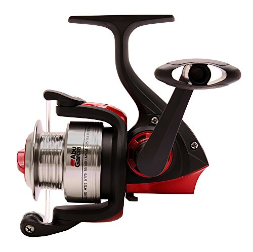 ABU GARCIA Cardinal - Combo de Surf Fishing, Color Negro