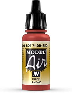 Vallejo Red Model Air 17ml Paint