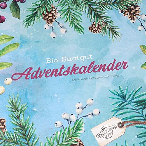 Bio-Saatgut-Adventskalender 2019 - Gemüse-, Kräuter- und Blumen-Raritäten - 10