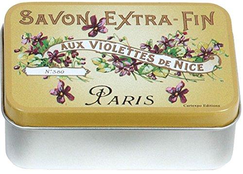 French Classics Cartexpo - Mini Boite Violettes DE Nice - Cartexpo - BN165
