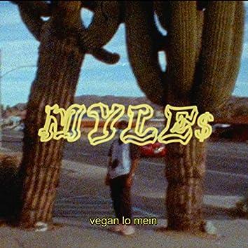 vegan lo mein