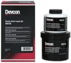 Devcon 10210 Plastic Steel Liquid (B) Epoxy, 1 lbs Bottle by Devcon