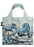LOQI VAN GOGH Old Vineyard and Landscape Bag Tote da viaggio, 50 cm, 15 liters, Blu (Old Landscape)