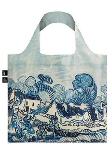 LOQI VAN GOGH Bag Travel Tote, 50 cm, 15 liters, Blue (Old Vineyard and Landscape) VG.LH
