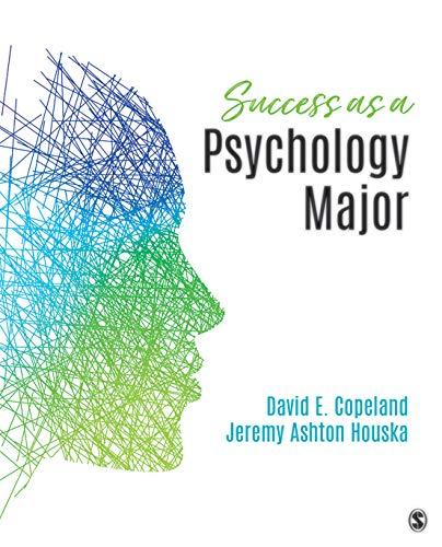 Success as a Psychology Major (English Edition)