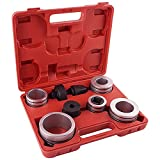 Fumrtcy Exhaust Pipe Expander Stretcher Tool Kit 1-5/8' to 4-1/4', Muffler Pipe Spreader Tool Set for Tail Pipe Tube