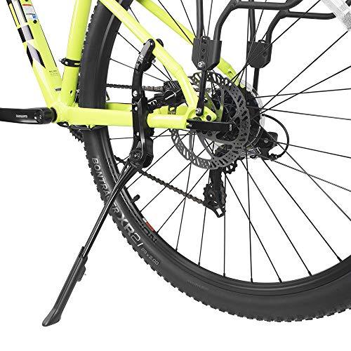 "BV Alloy Adjustable Rear Side Non-Slip Bicycle Bike Kickstand for 24"" - 29"" Mountain Bike/Road Bike/BMX/MTB"