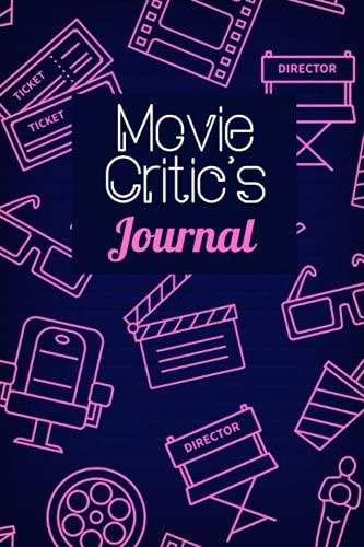 Diario de críticos de película: Críticos de cine Diario I Ver películas Logbook I Tracker I Fan Idea de regalo I Crítico Registro I Record I Journaling I Film Review Diario I...