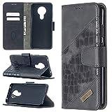 PHONETABLETCASE+ / for Compatible with Nokia 5.3 Couleur correspondante Crocodile Crocodile Texture...