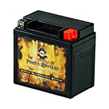 YTX5L-BS Replacement Motorcycle Battery - Rechargeable High Performance - AGM - Sealed Maintenance...
