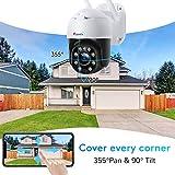 Zoom IMG-2 5mp ptz telecamera wifi esterno