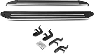 DNA MOTORING RNB-826 2Pcs Aluminum Side Step Bar Running Boards Replacement 5.5 Inches Wide