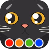 Livro de colorir - Gatos