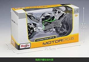 MAISTO 1/12 Scale Motorbike Model Toys Kawasaki Ninja H2R Diecast Metal Motorcycle Model Toy for Collection/Gift/Kids Black