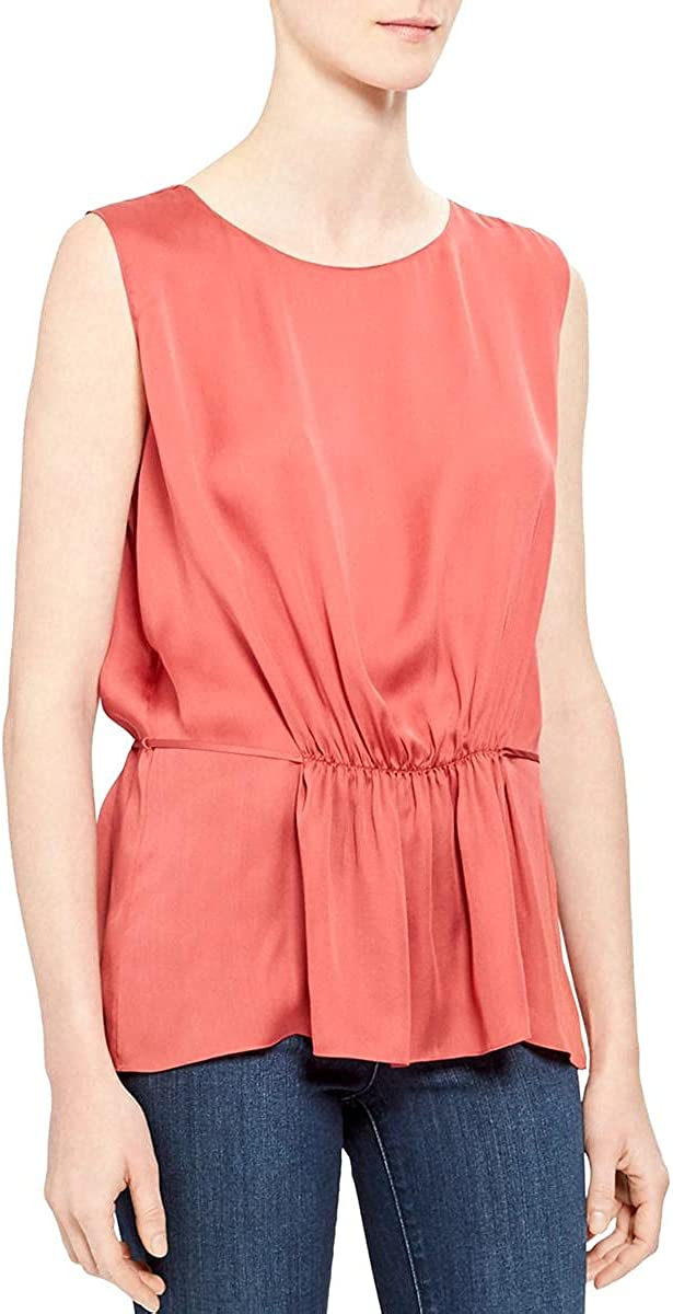 Theory Women's Shirred OFFicial site Animer and price revision Tank